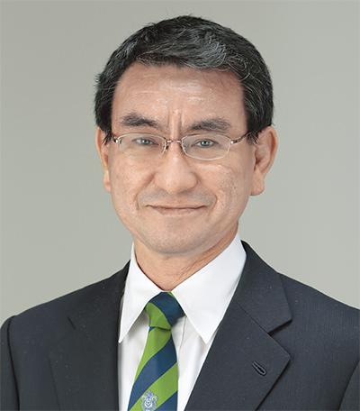 河野太郎,外務大臣,河野洋平,父,英語,派閥